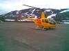 Helikoptertransport av utstyr