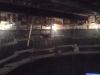 Innvendig fra siloen under glidestøp